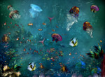 Jellyfish Bay -Picture for gallery Deep Sea Creatures